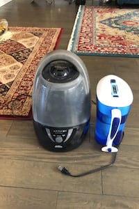 Sunbeam cool mist humidifier with Zero water filtration.