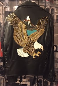 JACKET EAGLE LEATHER ($1,165)