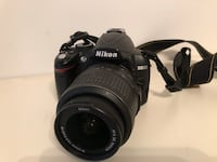 NIKON D3000 Camera with lens $249 Vancouver, V5R 5J4