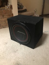 Pioneer 12 inch sub and box Manassas