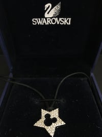 Swarovski Disney Mickey pendant necklace Richmond, V6Y 4K7