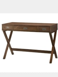 brown wooden single-drawer console table Ladson, 29456