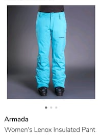 Armada Women's Ski/Snowboard Pant Medium Mint