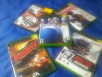 three assorted Xbox 360 game cases Rancho Cucamonga, 91730