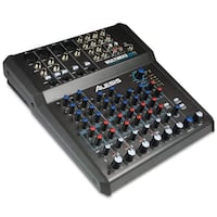 Alesis MultiMix 8 USB FX | 8-Channel Mixer with Effects & USB Audio Interface Richmond