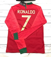 Portugal Red Jersey Ronaldo 7 long sleeve shirt Knoxville, 37918