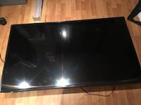 black Samsung flat screen TV Montréal, H1G 2M1