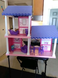This is a doll house for girls.
