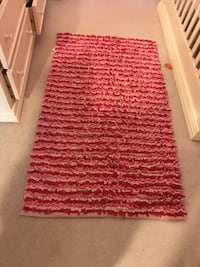 red and white area rug Clarksburg, 20871