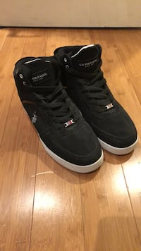 Pair of black U.S. Polo Assn. shoes Lake Forest, 92630