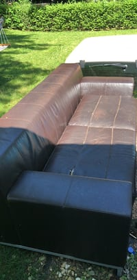 Leather couch- must be picked up Allentown, 18104