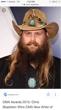Chris Stapleton  Houston, 77098