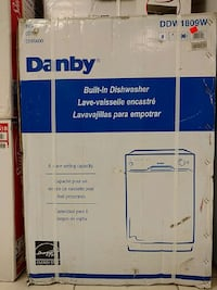 Danby built-in dishwasher Barrie, L4M 3C1