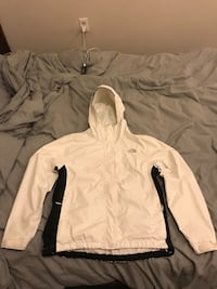 White north face hyvent jacket size medium Bellingham, 98225