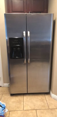 stainless steel side by side refrigerator with dispenser Las Vegas, 89149