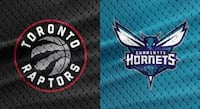 Raptors vs. Hornets, March 24 – Lower Bowl, Aisle Toronto