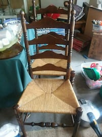 Vintage Ladder back Chairs Cassopolis, 49031