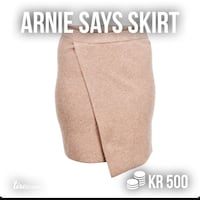 Arnie says skirt, str M Morvik