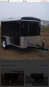 5x8 enclosed trailer for sale  Northborough, 01532