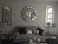 2 Large Accent Mirrors Kleinburg, L4H 4A3