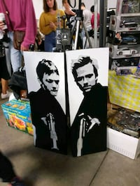 Two oil on canvas of the boondock saints. Toronto, M5A 3G5
