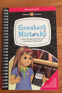 American Girl Greatest Mistakes NEW  Herndon, 20171