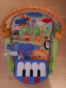 Fisher Price kick and play piano