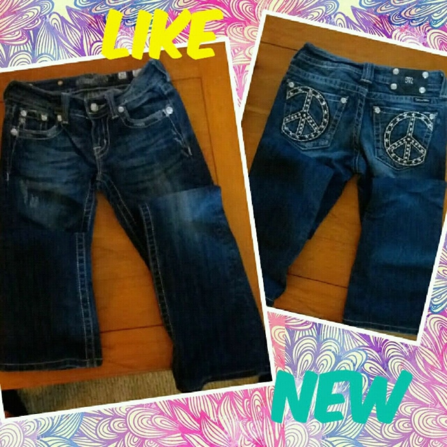 Photo Girl's MISS ME Boot cut jeans*Serious inquiries*