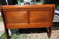 1950s sleigh bed recently refinished and polyureth Richmond, 23227