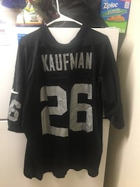 Silver and Black Raiders NFL Jersey Modesto, 95354