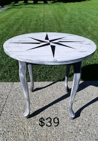 Compass Rose Side Table *Delivery Available* Hamilton, L9H 5N7