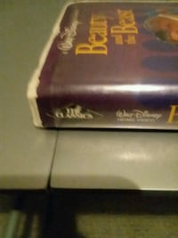 Beauty and the beast vhs tape Omaha, 68124