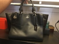 Women's black coach tote bag Toronto, M2J 1L3