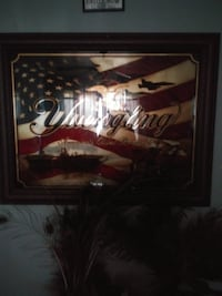 Yuengling wall mirror
