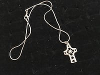 Sterling cut out cross necklace Glen Burnie, 21061