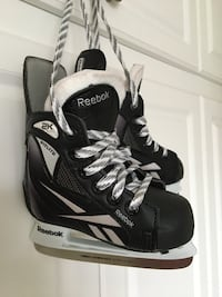 black-and-white Bauer inline skates Vaughan, L4H 1P3