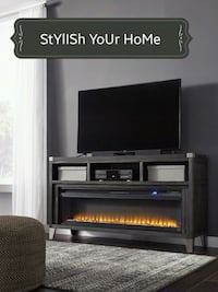LG TV Stand with Infrared Fireplace Insert Houston, 77036