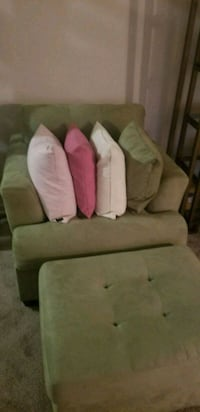 white and pink fabric sofa chair Oxon Hill, 20745
