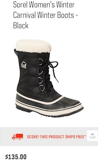 SOREL WOMENS BRAND NEW IN BOX Mississauga, L5M 3C5