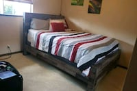 Queen Size Frame, Matress, and Box Spring. Mililani, 96789