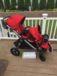 Baby's red and black travel system city select stroller  Old Bridge, 08857