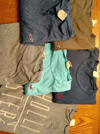 6 Hollister s/s t shirts 15 for all 6 Middletown, 17057