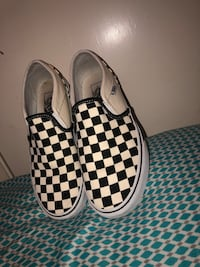 Checkered Vans (size 6.5-7) Omaha, 68134
