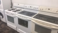 Appliances with warranty driveway delivery available