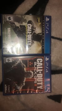 PS4 Call of Duty Black Ops 3 and Infinite Warfare  Visalia, 93277