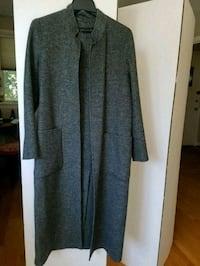 women's gray long-sleeved coat Washington, 20007