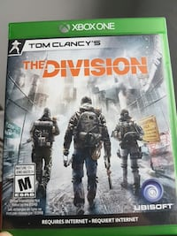 xbox one tom clancy's the division Lanoraie, J0K
