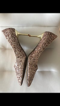 Rose Gold/Champagne Colour Heels