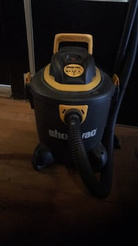 black and yellow Ridgid wet and dry vacuum cleaner Vancouver, V6A 1B4