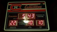 Montreal candiens  time clock Laval, H7H 1Y5